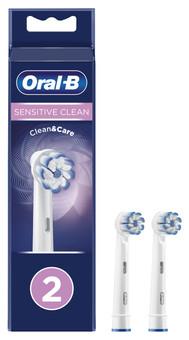 Oral-B Sensitive Clean Brush Attachment 2 units