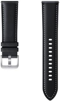 Samsung Galaxy Watch3 45mm Leather Strap Black 22mm