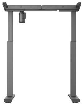 Worktrainer StudyDesk Sit-Stand Frame Black