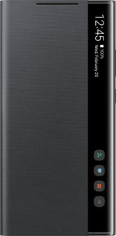 Samsung Galaxy Note 20 Ultra Clear View Book Case Black