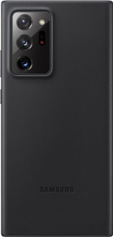 Samsung Galaxy Note 20 Ultra Back Cover Leather Black