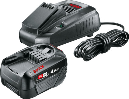 Bosch POWER FOR ALL 18V 4.0Ah Battery + Charger