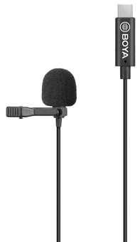 Boya BY-M3 Lavalier Microphone for USB-C