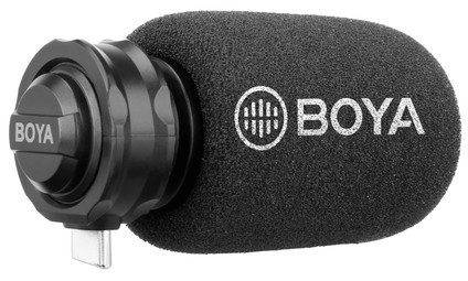 Boya BY-DM100 Cardioid Video Microphone for USB-C