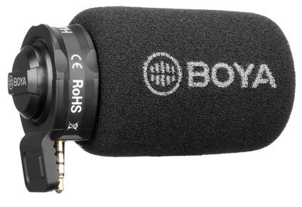 Boya BY-A7H Cardioid Video Microphone 3.5mm