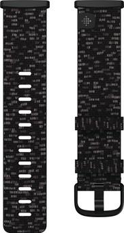 Fitbit Versa 3/Sense Nylon Strap Charcoal L