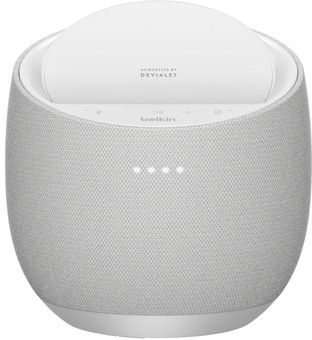 Belkin SoundForm Elite HiFi Smart Speaker with Google Assistant White