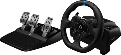 Logitech G923 TRUEFORCE - Racing Wheel with Force Feedback for PlayStation 5, PS4, and PC