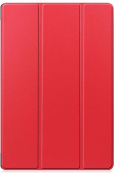 Just in Case Tri-Fold Samsung Galaxy Tab S7 Plus Book Case Red