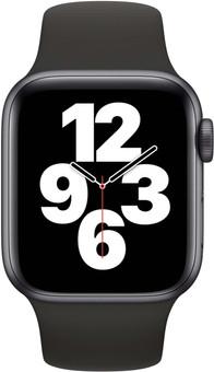 Apple Watch SE 40mm Space Gray Aluminum Black Sport Band