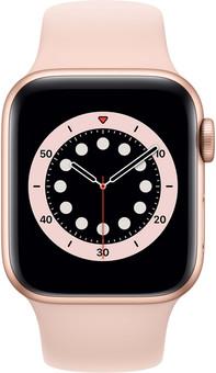 Apple Watch Series 6 40mm Rose Gold Aluminum Pink Sand Sport Band
