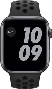 Apple Watch Nike Series 6 44mm Space Gray Aluminum Black Sport Band