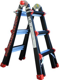 Bigone telescopic ladder 4x3