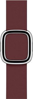 Apple Watch 38/40mm Modern Leather Watch Strap Garnet - Large