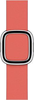 Apple Watch 38/40mm Modern Leather Watch Strap Pink Citrus - Medium