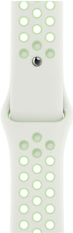 Apple Watch 38/40mm Silicone Watch Strap Nike Sport Spruce Aura/Vapor Green
