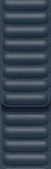 Apple Watch 38/40mm Leather Link Watch Strap Baltic Blue - Medium/Large
