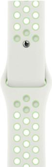 Apple Watch 42/44mm Silicone Watch Strap Nike Sport Spruce Aura/Vapor Green