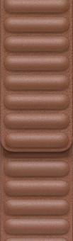 Apple Watch 38/40mm Leather Link Watch Strap Saddle Brown - Small/Medium