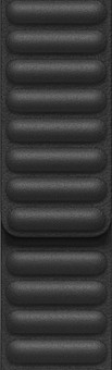 Apple Watch 38/40mm Leather Link Watch Strap Black - Medium/Large