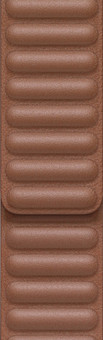 Apple Watch 42/44mm Leather Link Watch Strap Saddle Brown - Medium/Large