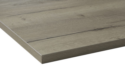 Worktrainer Worktop 80x80cm Natural Oak