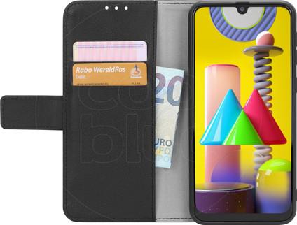 Just in Case Wallet Samsung Galaxy M31 Book Case Black