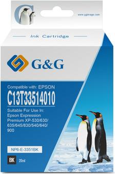 G&G 33XL Cartridges Black