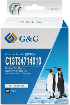 G&G 34XL Cartridge Black
