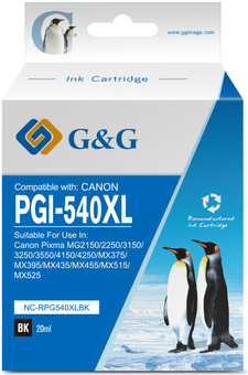 G&G PG-540XL Cartridge Black