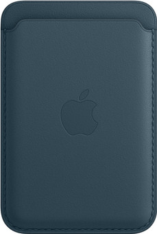 Apple Leather Wallet for iPhone with MagSafe Baltic Blue