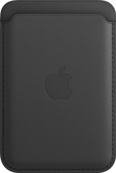 Apple Leather Wallet for iPhone with MagSafe Black