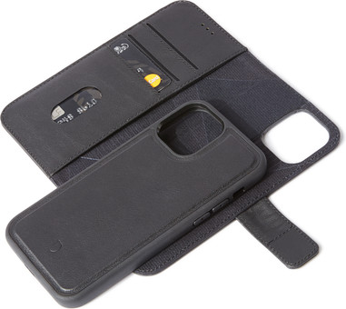 Decoded Apple iPhone 12 Mini 2-in-1 Case Leather Black