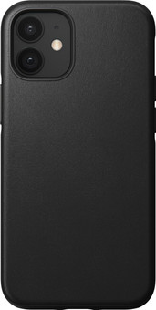 Nomad Rugged Case Apple iPhone 12 Mini Back Cover Leather Black