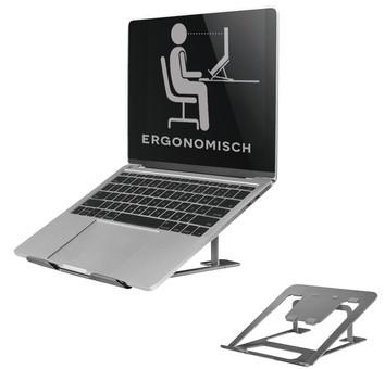 NewStar Foldable Laptop Stand NSLS085 Gray