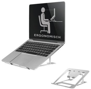 NewStar Foldable Laptop Stand NSLS085 Silver