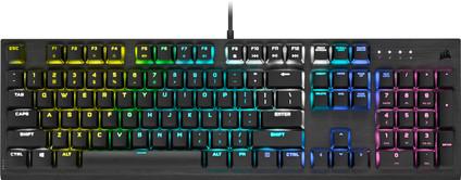 Corsair K60 RGB Pro Low Mechanical Gaming Keyboard QWERTY