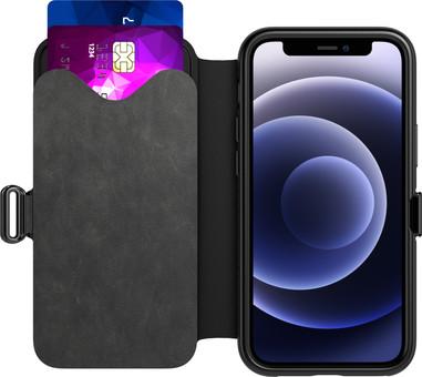 Tech21 Evo Wallet iPhone 12 Pro Max Book Case Black
