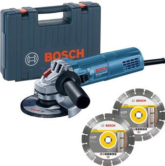 Bosch Professional GWS 880 + 2x diamond disc