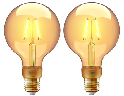 Innr Filament Globe Light Vintage RF 261 Duo Pack