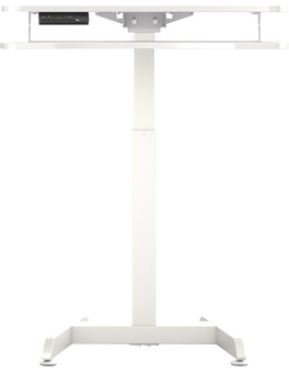 Worktrainer Small Electric Sit-Stand Desk 80x40 White