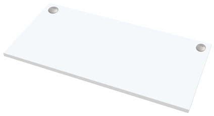 Fellowes Worktop White 140x80cm
