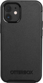OtterBox Symmetry Apple iPhone 12 Mini Back Cover Black
