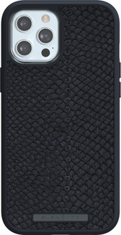 Nordic Elements Njord Apple iPhone 12 Pro Max Back Cover Leather Gray
