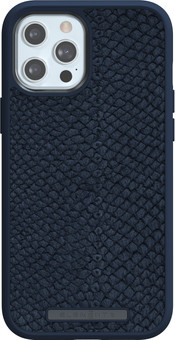Nordic Elements Njord Apple iPhone 12 Pro Max Back Cover Leather Blue