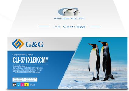 G&G CLI-571XL Cartridges Combo Pack