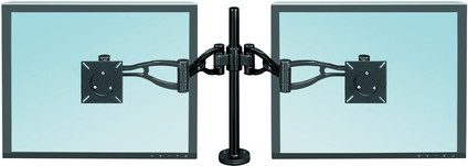Fellowes Professional Series Double Monitor Arm