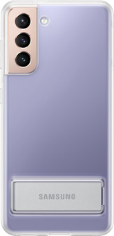 Samsung Galaxy S21 Clear Standing Back Cover Transparent
