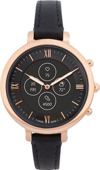 Fossil Monroe Hybrid HR FTW7035 Rose Gold/Black