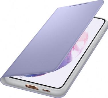 Samsung Galaxy S21 Plus LED View Book Case Purple